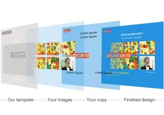Modern Postcard's Creative Design Templates.