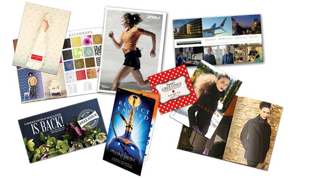 postcard printing direct mail marketing lists design modern