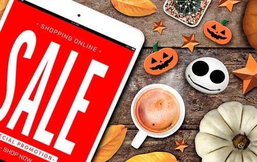 Modern Postcard Halloween 2018 Marketing Tips