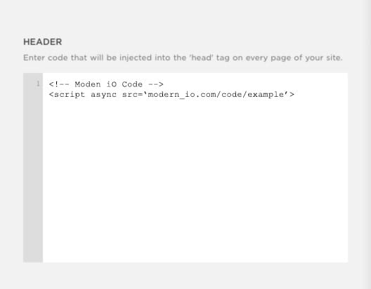 Modern iO - Tag Instructions for SquareSpace - Image 2
