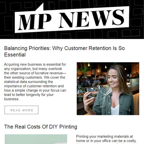 MP News - Modern Postcard's Monthly Newsletter