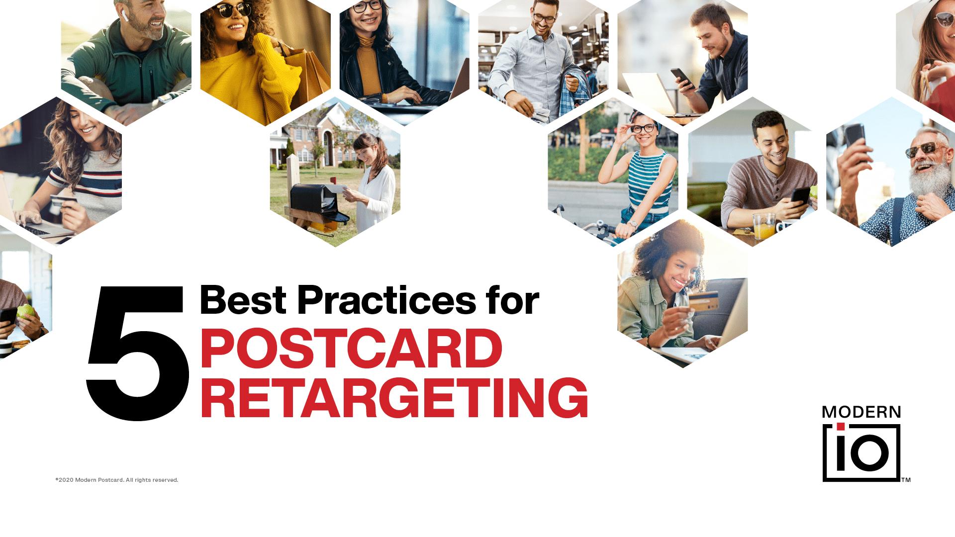 5 Best Practices of Postcard Retargeting Webinar