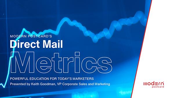 Direct Mail Metrics Webinar