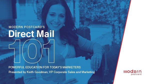 Direct Mail 101 Webinar