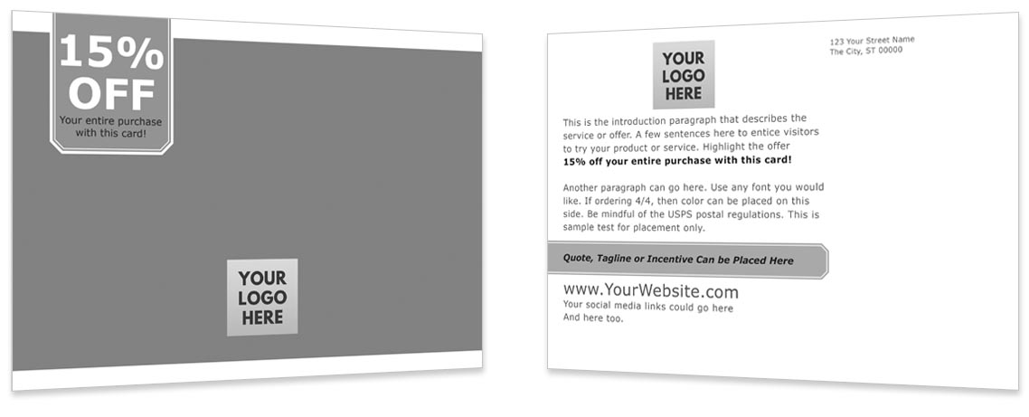 Direct to Consumer Mailing Template #3