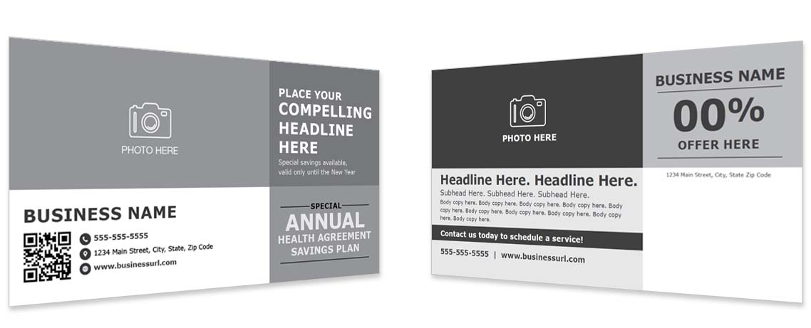 Direct to Consumer Mailing Template #6
