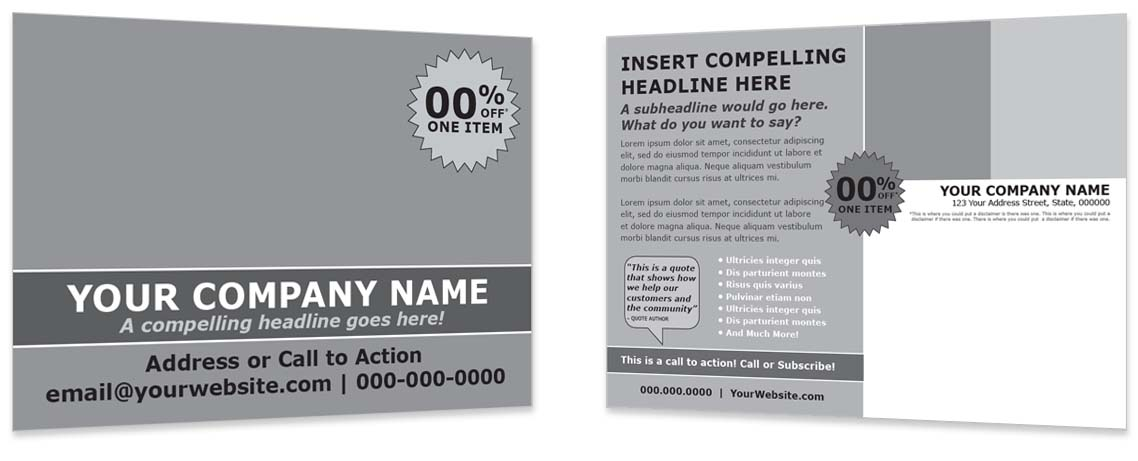 Design Template - Invite to Event or Introduce New Products #2