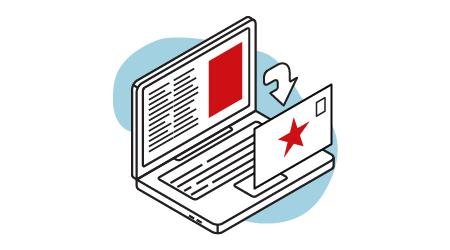 Direct Mail Retargeting Icon