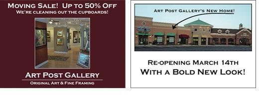 Art Post Gallery Postcard Re-Opening