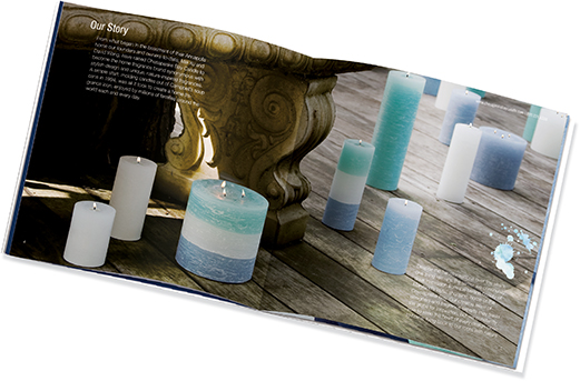 Beauty Booklet Candles