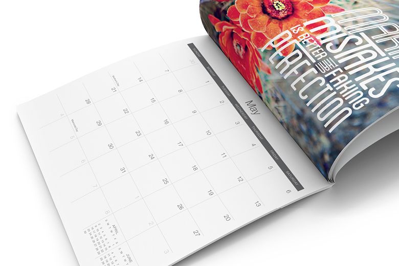 Calendar Printing by Modern Postcard