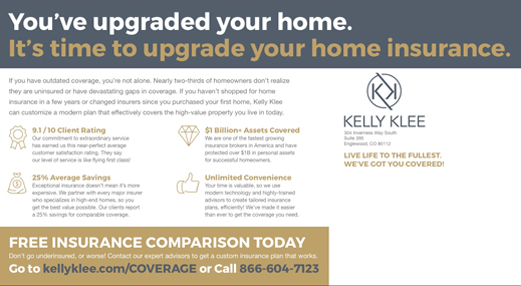 Kelly Klee Postcard Marketing