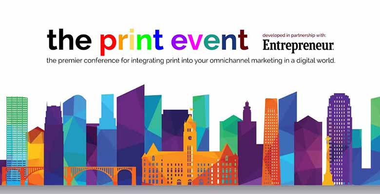 The Print Event conference 2019.