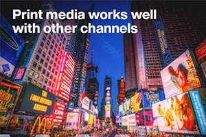 Pairing Print Media With Other Channels