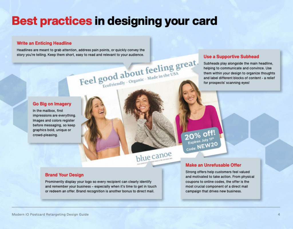 Designing your card
