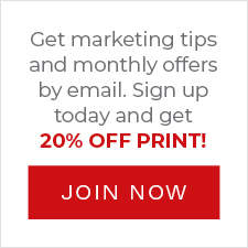 Join Now for 20% OFF PRINT