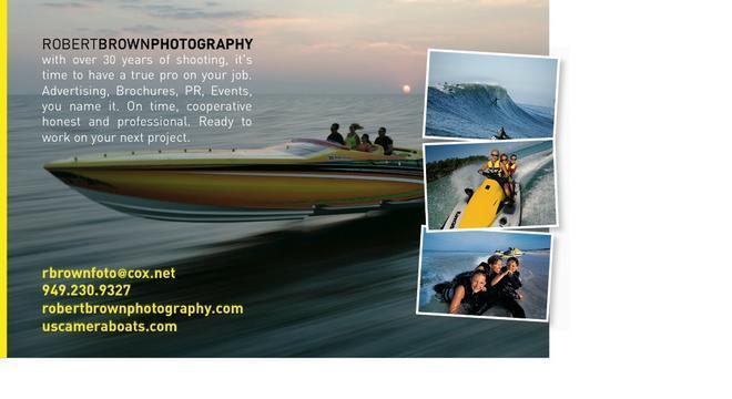 Robert Brown Photography Postcard Example