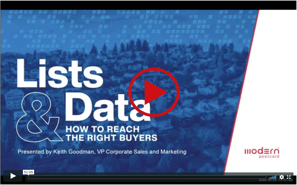 Lists & Data - How to Reach the Right Buyers