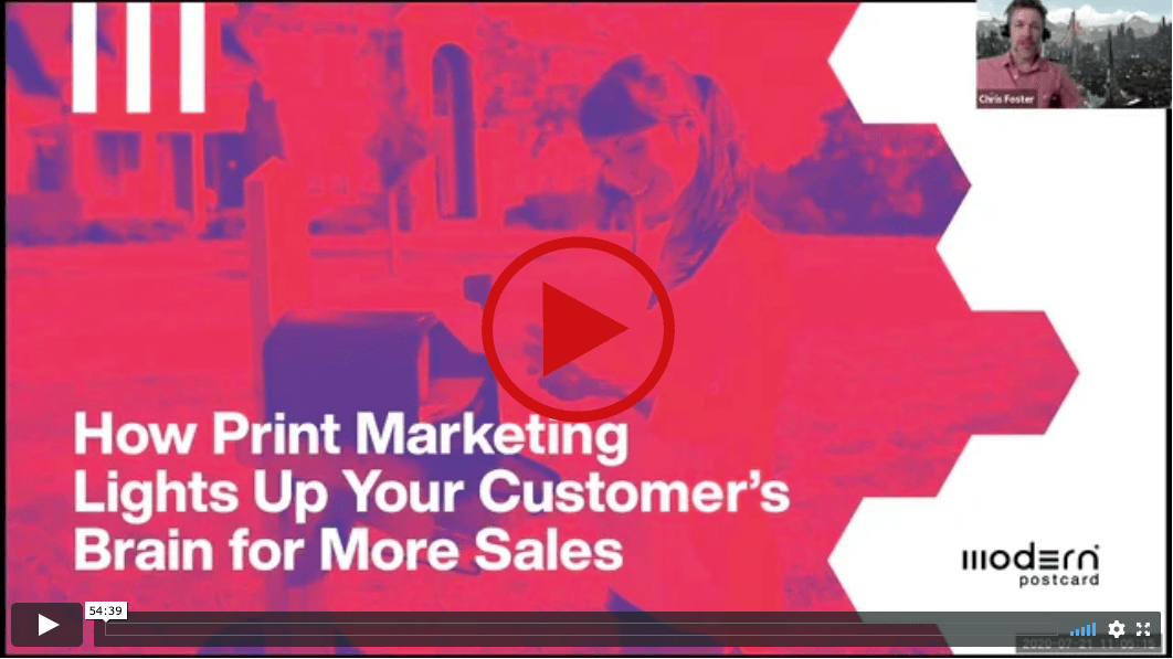 Webinar on Demand How Print Lights Up The Brains Of Your Customers